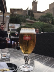Beer tastes better outside in the French air