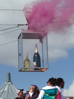A round at La Folie Douce