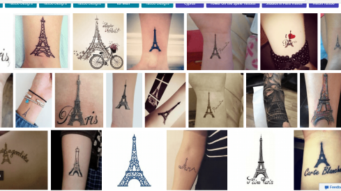 paris tattoos