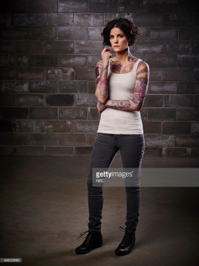 BLINDSPOT -- Season: Pilot -- Pictured: Jaimie Alexander as Jane Doe -- (Photo by: Sandro/NBC/NBCU Photo Bank)