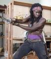 Undated FX Handout Photo from The Walking Dead. Pictured: Michonne (Danai Gurira). See PA Feature TV Walking Dead. Picture Credit should read: PA Photo/Gene Page/AMC. WARNING: This picture must only be used to accompany PA Feature TV Walking Dead.